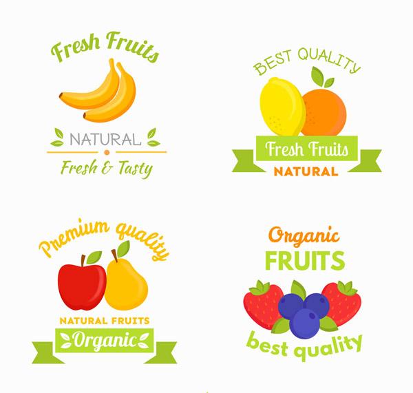新鲜水果标签
