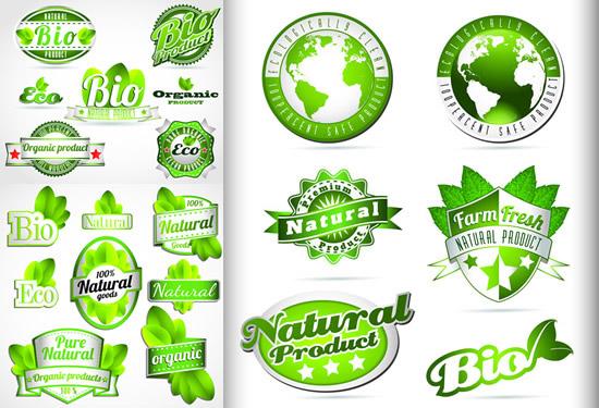 绿色生态标签