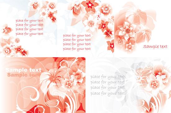 关键词: 梦幻粉色花朵矢量素材,梦幻花朵,粉色鲜花,反白花纹,幻彩花卉