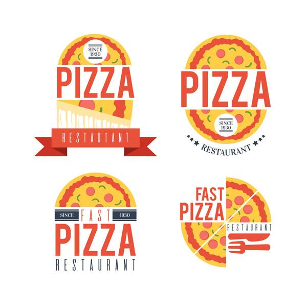 创意披萨店标志