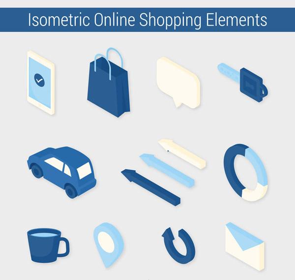 网上购物图标