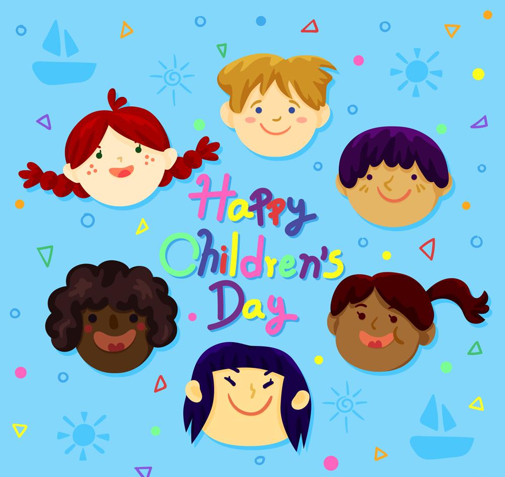 节日儿童头像圆环