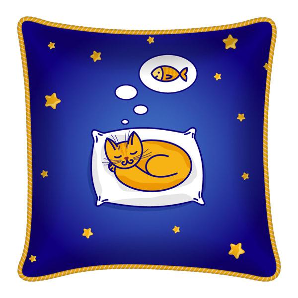 睡眠猫咪坐垫