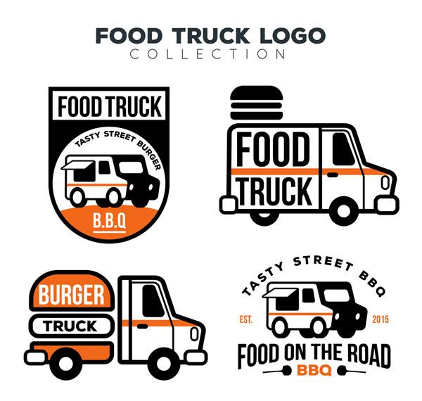 创意快餐车标志