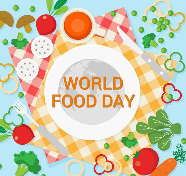 世界粮食日餐盘