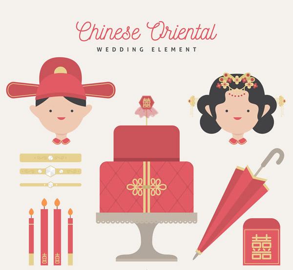 中式婚礼元素