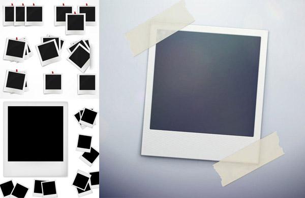 素材分类: 矢量生活用品所需点数: 0 点 关键词: 拍立得相片模板矢量