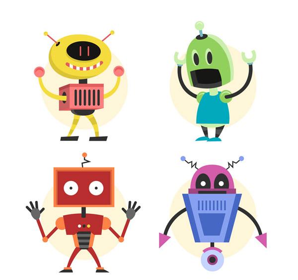彩色机器人设计