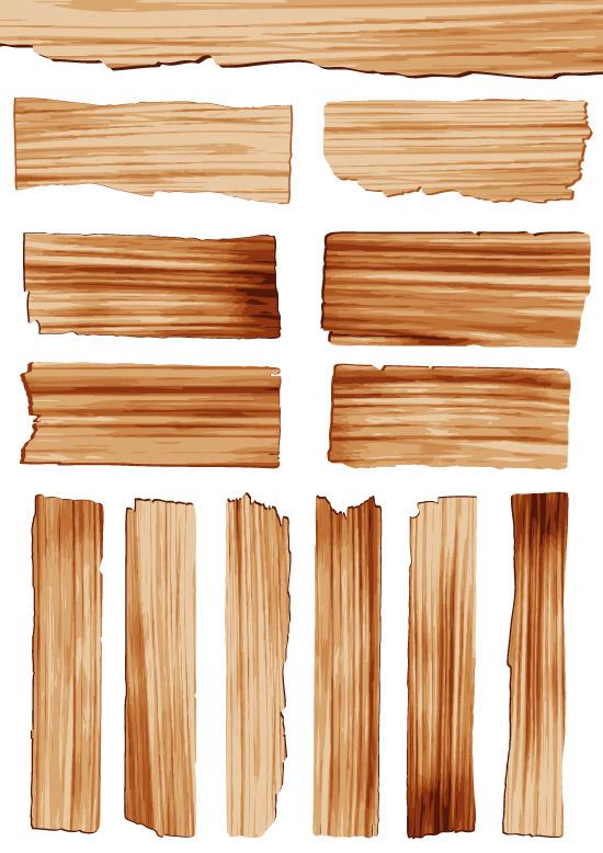 条形纹路木板