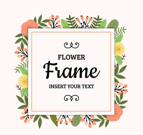 花卉框架设计