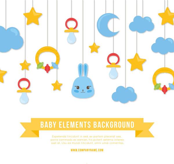 婴儿挂饰设计