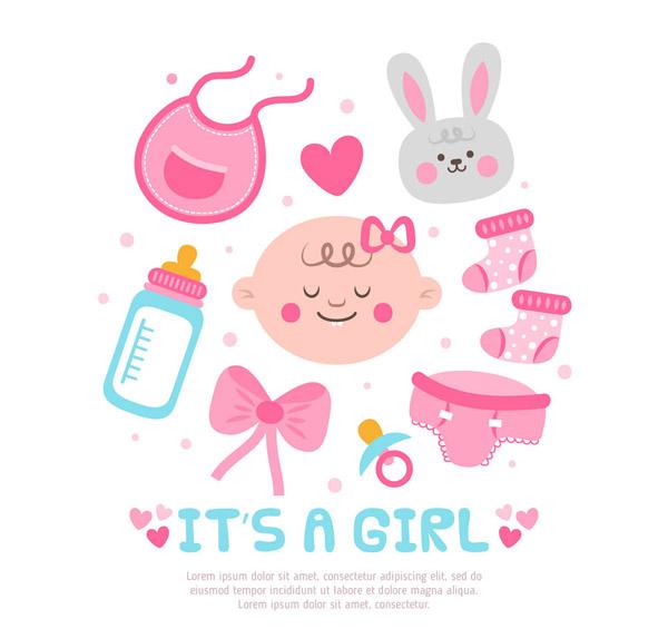 可爱女婴用品
