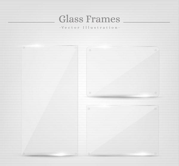 透明玻璃框架
