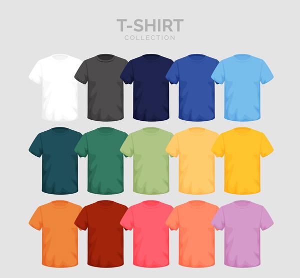 15款彩色短袖