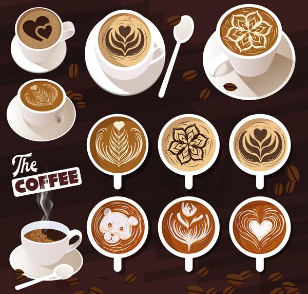 美味拉花咖啡