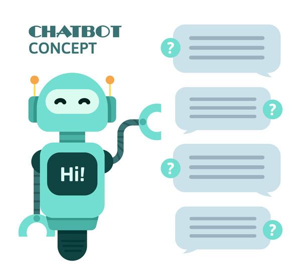 蓝色聊天机器人