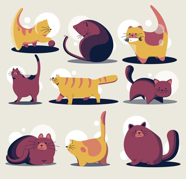 9款卡通猫咪