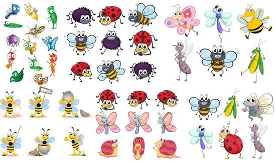 简笔画小蜻蜓; 标签:卡通昆虫动物可爱精美蜗牛蝴蝶蜘蛛毛毛虫蚂蚁