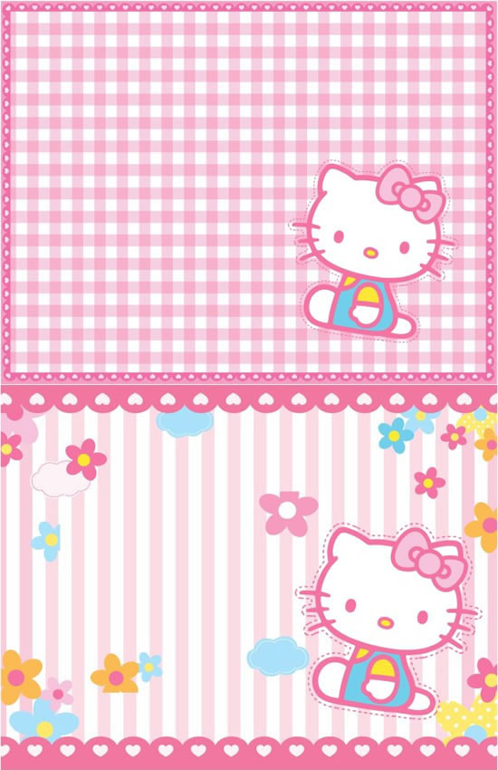 Pink cartoon kitty cat