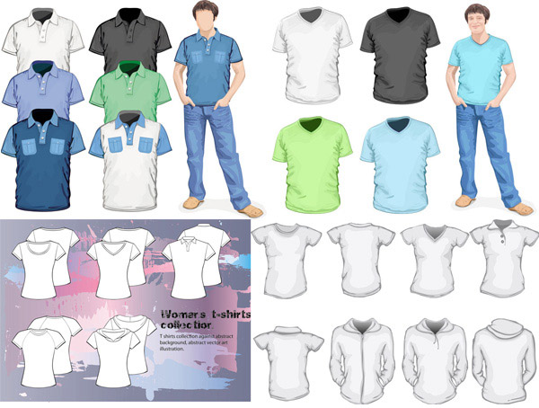 Top t shirt templates
