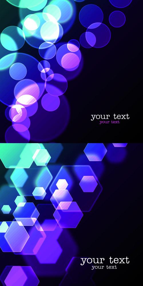 素材分类: 矢量背景所需点数: 0 点 关键词: 紫色几何光斑背景矢量图
