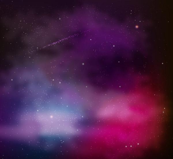 梦幻银河系风景