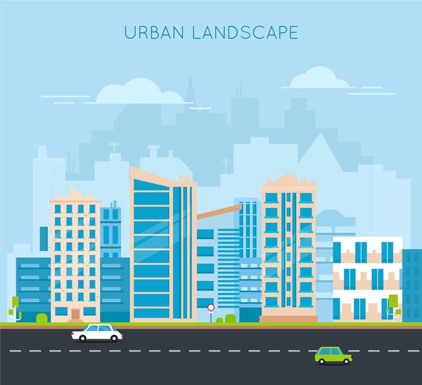 城市建筑风景