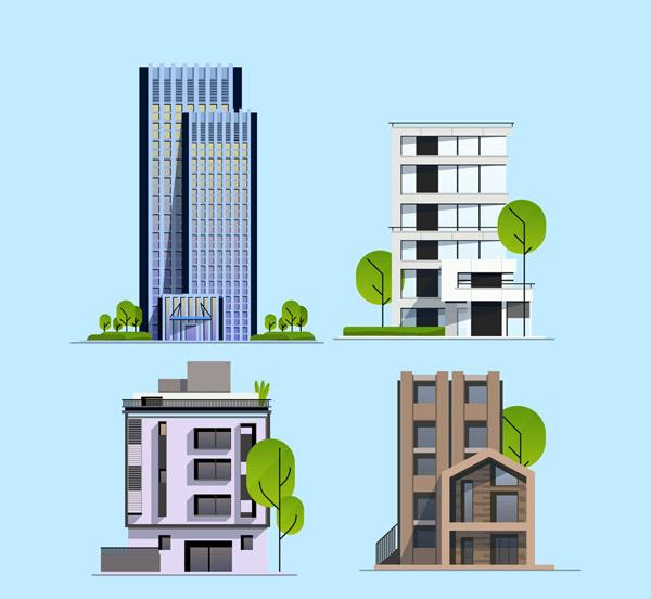现代大厦设计