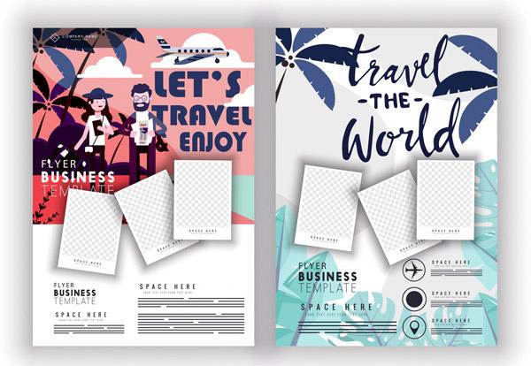 创意旅行传单