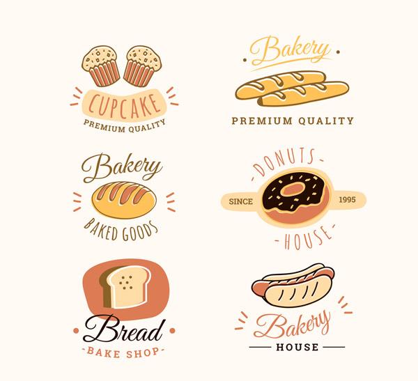 创意面包店标志