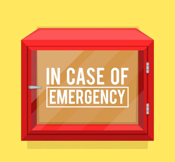 红色消防箱设计