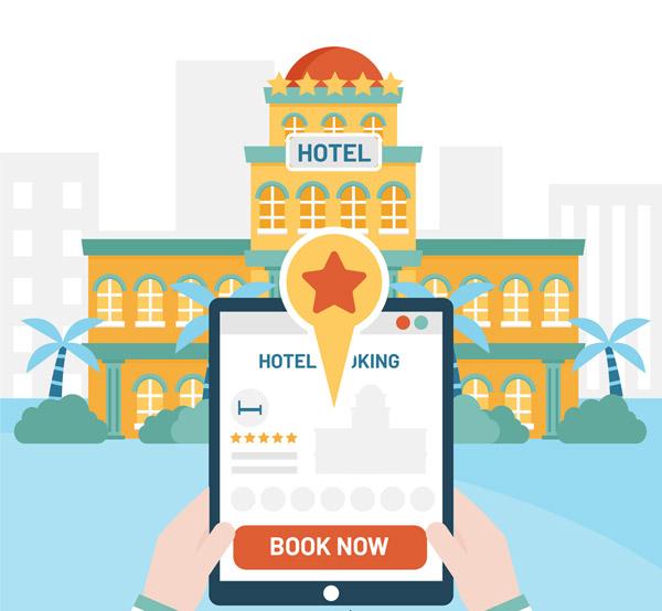 预订酒店平板电脑