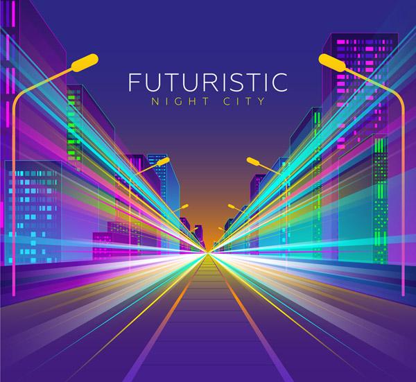 创意未来城市风景