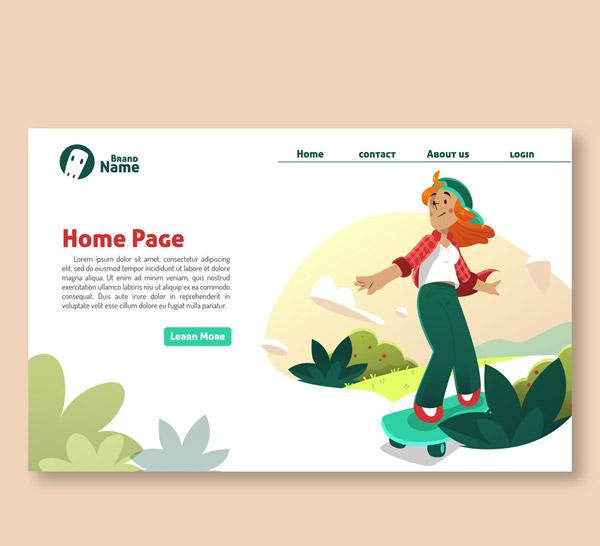 滑板女子网站主页