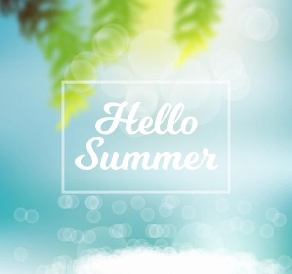 夏季阳光海滩