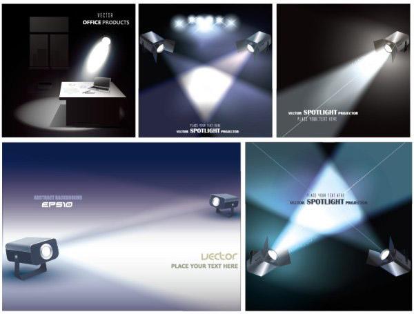 Vector spotlight