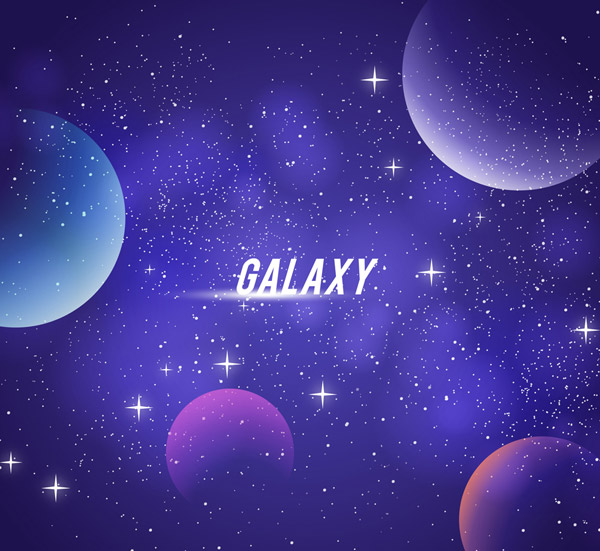 梦幻宇宙星球风景