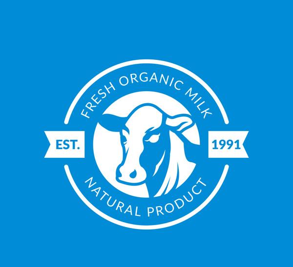新鲜奶产品标志