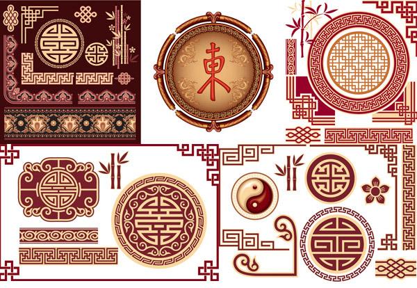 中式古典花纹_素材中国sccnn.com图片