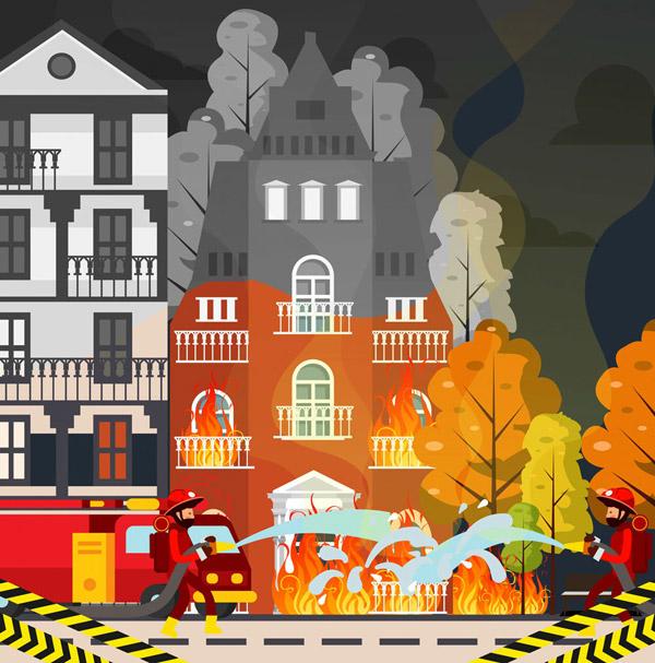 救火场景设计