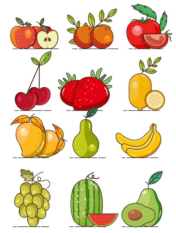 水果设计矢量
