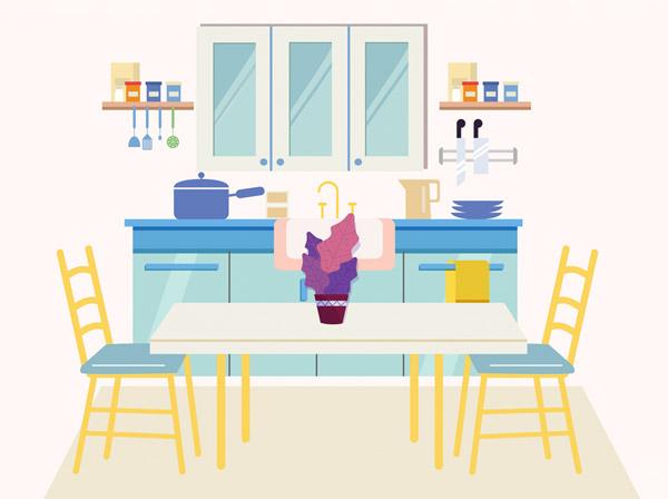 整洁厨房设计