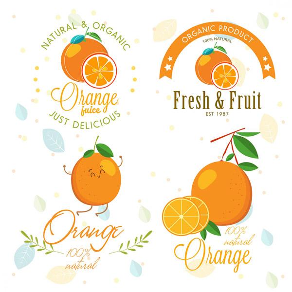 创意橙汁标志