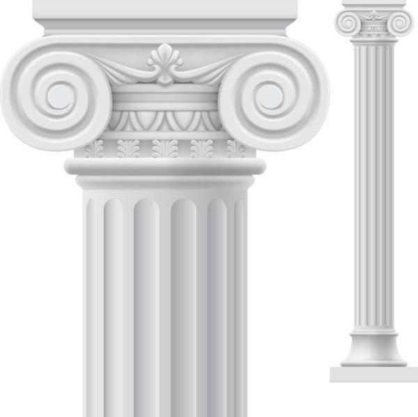 0 点 关键词: 白色罗马柱矢量素材,白色石柱,罗马柱,欧式建筑,花纹