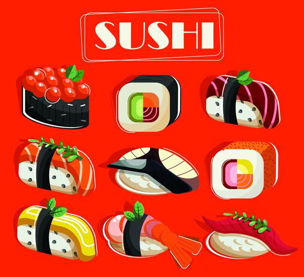 美味寿司设计