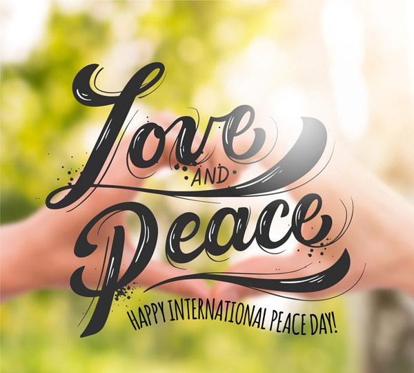 国际和平日海报