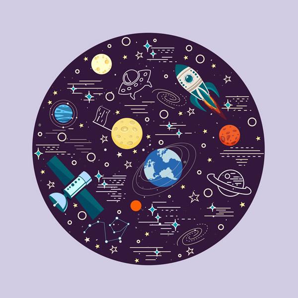 宇宙空间元素