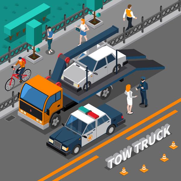 交通事故场景