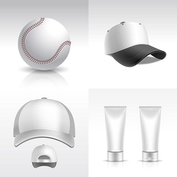 空白帽子与护肤品