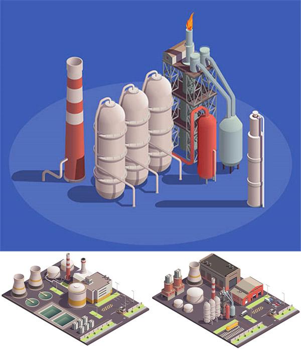 化工设备等距模型